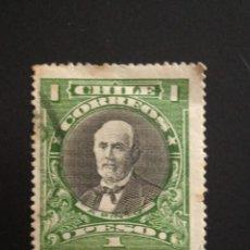 Sellos: CHILE 1 PESO, A. PRIETO AÑO 1910.. Lote 243085725