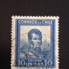 Sellos: CHILE 10 CENTAVOS OHIGGINS, AÑO 1950... Lote 243089540