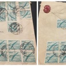 Sellos: O) 1967 CHILE, DOUGLAS COMMERCIAL PLANE, CIRCULATE COVER EMPRESA PESQUERA HARLING LTDA SAN ANTONIO,. Lote 252698250