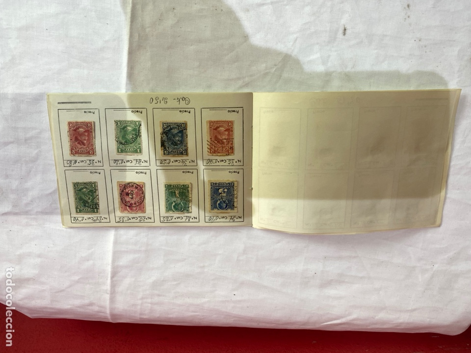 Sellos: Álbum de sellos antiguos chile clasificados. Coleccion 127 sellos . Ver fotos - Foto 3 - 261698080