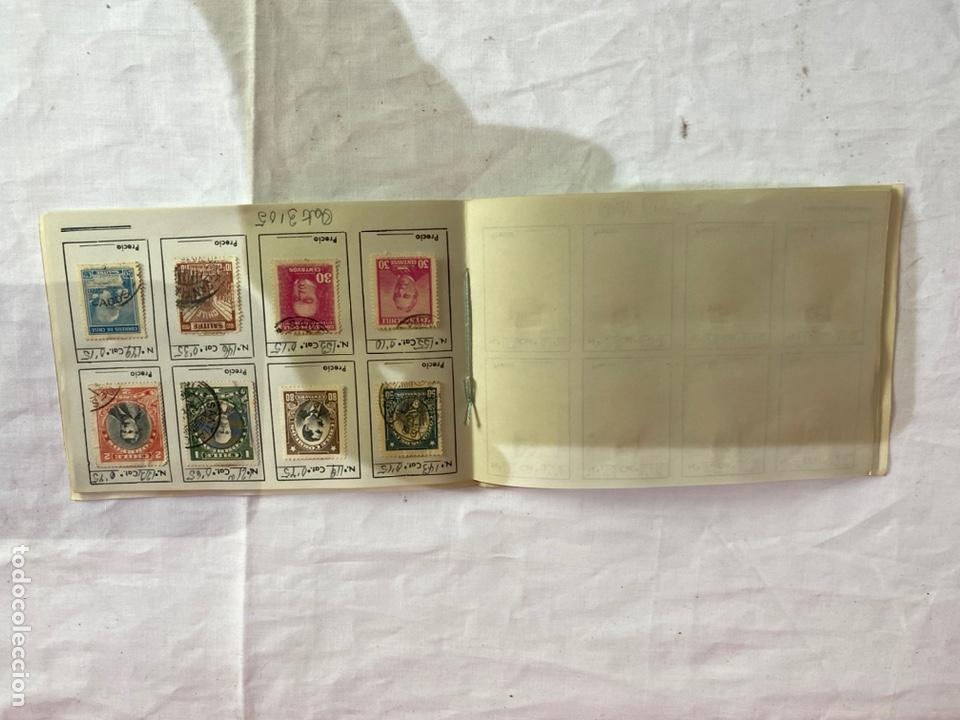 Sellos: Álbum de sellos antiguos chile clasificados. Coleccion 127 sellos . Ver fotos - Foto 10 - 261698080