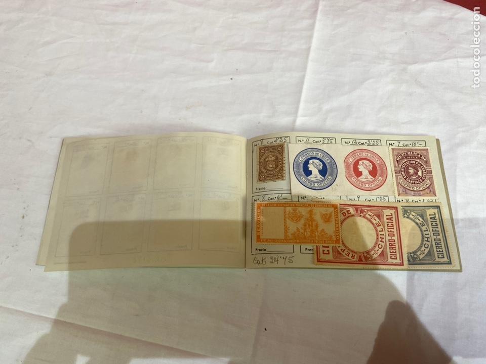 Sellos: Álbum sellos antiguos chile catalogados.ver fotos - Foto 15 - 261795955