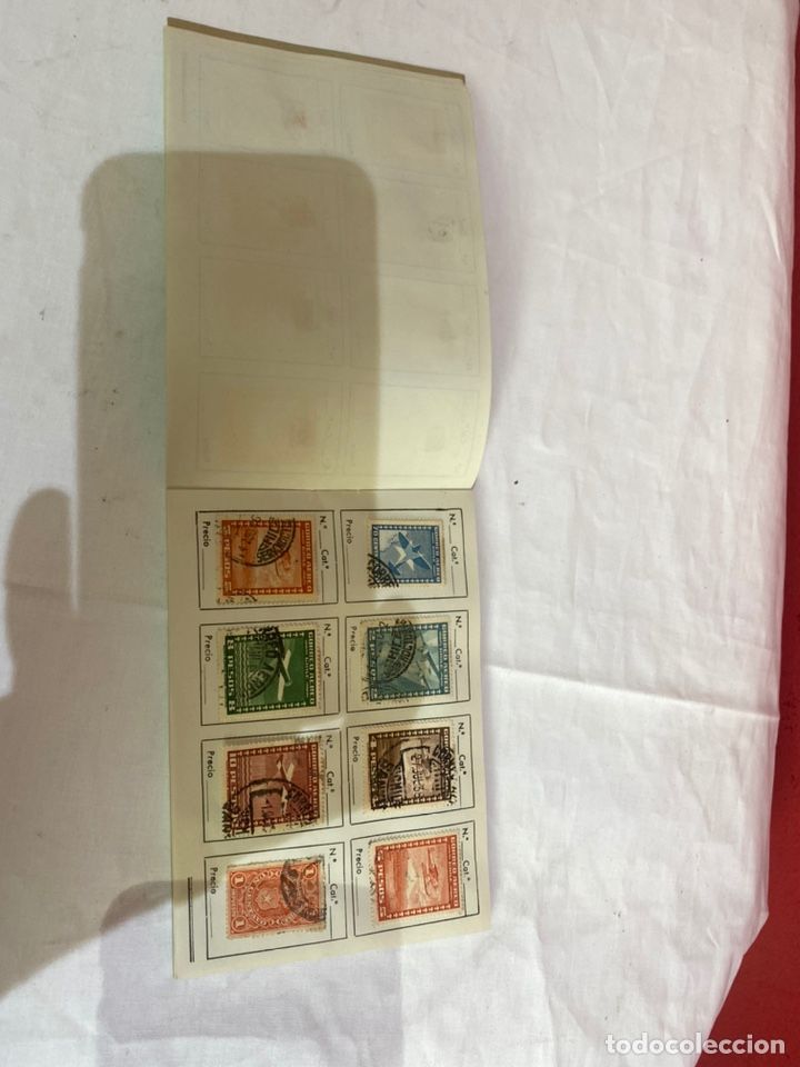 Sellos: Álbum de sellos antiguos chile catalogados.ver fotos - Foto 9 - 261799220