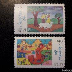 Sellos: CHILE YVERT 681/2 SERIE COMPLETA NUEVA *** 1984 NAVIDAD. DIBUJOS INFANTILES MÍNIMO 3€. Lote 263068615