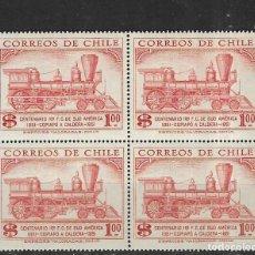 Timbres: CHILE Nº 247 BLOQUE DE CUATRO (**). Lote 275538973