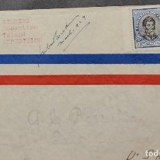 Sellos: O) CHILE 1929, EXPEDICIÓN WILKINS DECEPTION ISLAND, JOAQUIN PRIETO, O´HIGGINS, CUBIERTA CIRCULADA A. Lote 276758763