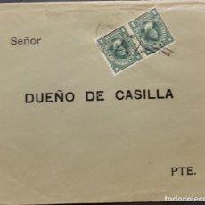 Sellos: O) 1911 CHILE, COLUMBUS, SCT 98 1C GREEN, DUEÑO DE CASILLA. Lote 277100613