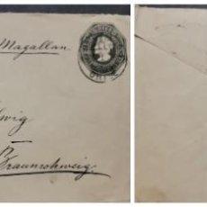Sellos: O) 1898 CHILE, VIA MAGALLAN TO GERMANY, PORTE FRANCO 20C COLUMBUS, POSTAL STATIONERY, XF. Lote 277103318