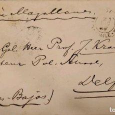 Sellos: O) 1902 CHILE, VÍA MAGALLANES, PAISES BAJOS, CRISTÓBAL COLÓN 10C, PAPELERÍA POSTAL, XF. Lote 288586893