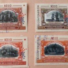 Sellos: SELLOS DE CHILE. 2010.. Lote 197658222
