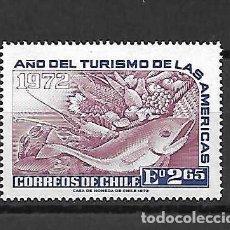 Sellos: CHILE EXPORTA. UVAS Y MÁS. SELLO AÑO 1972. Lote 289677463