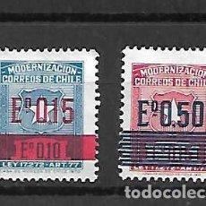 Sellos: SELLOS MODERNIZACIÓN. CHILE.. Lote 289678443