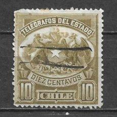 Sellos: CHILE SELLO TELEGRAFOS - 1/12. Lote 293444663