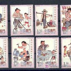 Timbres: CHINA MACAO 2006.- SERIE ESCENAS DE LA VIDA EN EL PASADO.- OFICIOS Y PROFESIONES. Lote 4597166