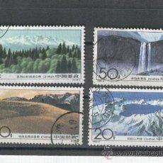 Timbres: SELLOS. CHINA. PAISAJES. SELLOS GRANDES. BONITOS.1993. Lote 31863007