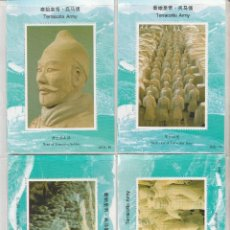 Sellos: CHINA. SOLDADOS DE TERRACOTA 8 HB .SOUVENIR. **.,MNH ( 2 FOTOS ). Lote 51169259
