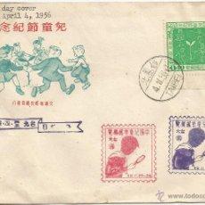 Sellos: 1956 - PRIMER DÍA DE EMISIÓN - CHINA. Lote 51225651