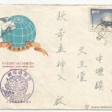 Sellos: 1959 - SOBRE PRIMER DÍA - CHINA. Lote 51225708