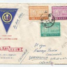Sellos: 1959 - CORREO AÉREO CONMEMORATIVO DE CHUNGLI - CHINA. Lote 51225714
