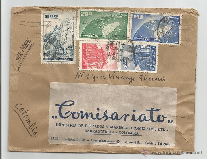 1959 - CORREO AÉREO - CHINA (Sellos - Extranjero - Asia - China)