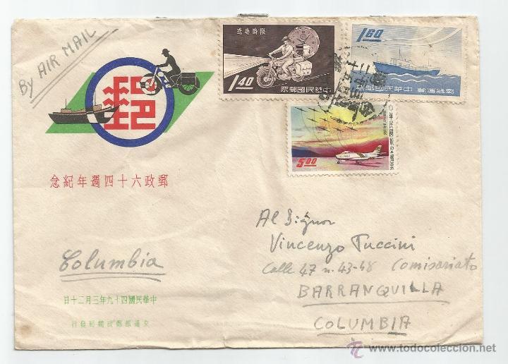1960 - CORREO AÉREO DE CHUNGLI - CHINA (Sellos - Extranjero - Asia - China)