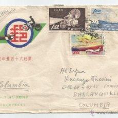 Sellos: 1960 - CORREO AÉREO DE CHUNGLI - CHINA. Lote 51225751