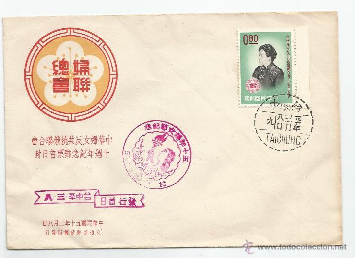 1960 - SOBRE PRIMER DÍA DE SERVICIO - CHINA (Sellos - Extranjero - Asia - China)