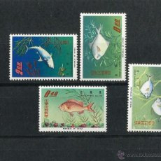 Sellos: CHINA TAIWAN 1965 PECES . Lote 54129018