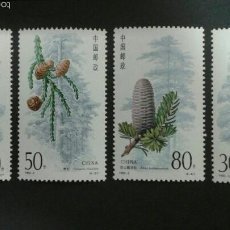 Sellos: SELLOS DE CHINA. FLORA. YVERT 3107/10. SERIE COMPLETA NUEVA SIN CHARNELA.. Lote 52906113