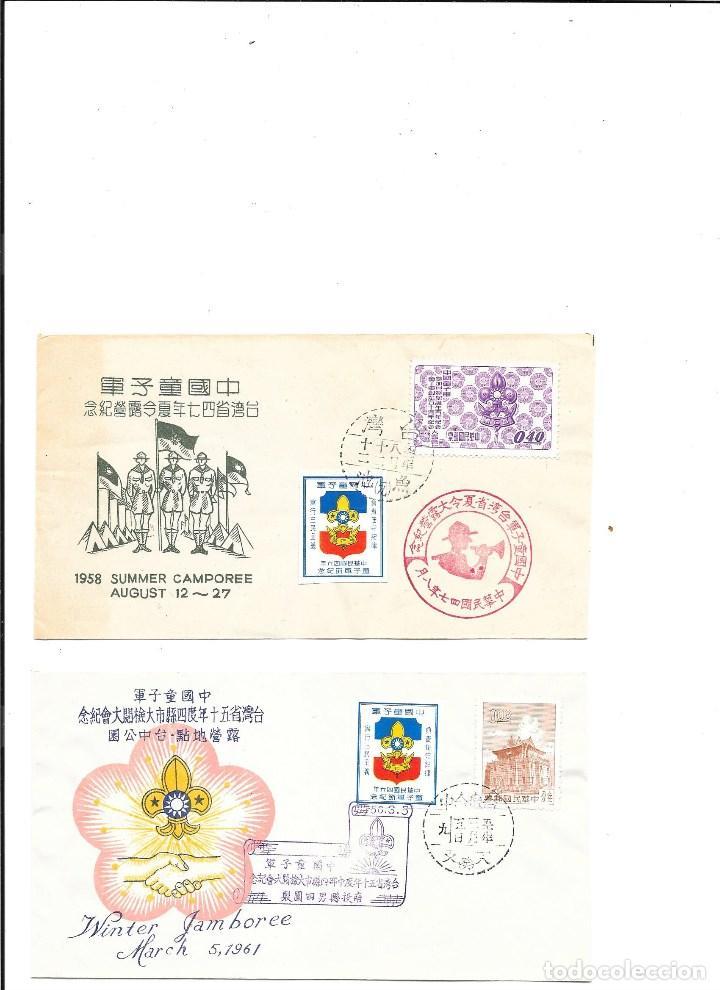 FORMOSA-TAIWAN BOY SCOUTS (Sellos - Extranjero - Asia - China)
