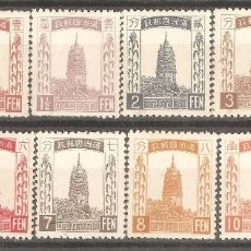 Sellos: CHINA,1932,CAT.YT.1/11.. Lote 113633715