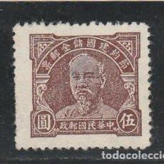 Sellos: CHINA - USADO - LEVE ADELGAZAMIENTO. Lote 115336263