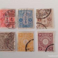 Sellos: LOTE DE 6 SELLOS CLÁSICOS DE CHINA CTO. Lote 130873409