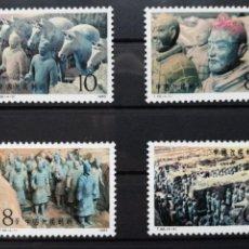 Sellos: CHINA, SERIE 4 SELLOS 1983 - EJERCITO DE TERRACOTA. Lote 133404026