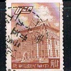 Sellos: TAIWAN (CHINA) Nº 323, CHU KWANG TOWER, QUEMOY, USADO. Lote 142590970