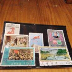 Sellos: 6 SELLOS CIRCULADOS DE CHINA . Lote 145766102