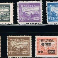 Sellos: CHINA - LOTE DE 10 SELLOS - TRENES (NUEVO) LOTE 20. Lote 151852274