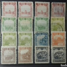 Sellos: SELLOS DE MANCHURIA (MANCHUKUO) CASI TODO EN NUEVO. Lote 154571704