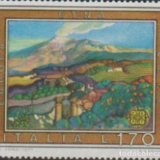 Selos: LOTE (8) SELLOS SELLO ITALIA GRAN TAMAÑO. Lote 165044894