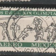 Sellos: LOTE (8) SELLOS SELLO MEXICO MEJICO DEPORTES. Lote 213773677