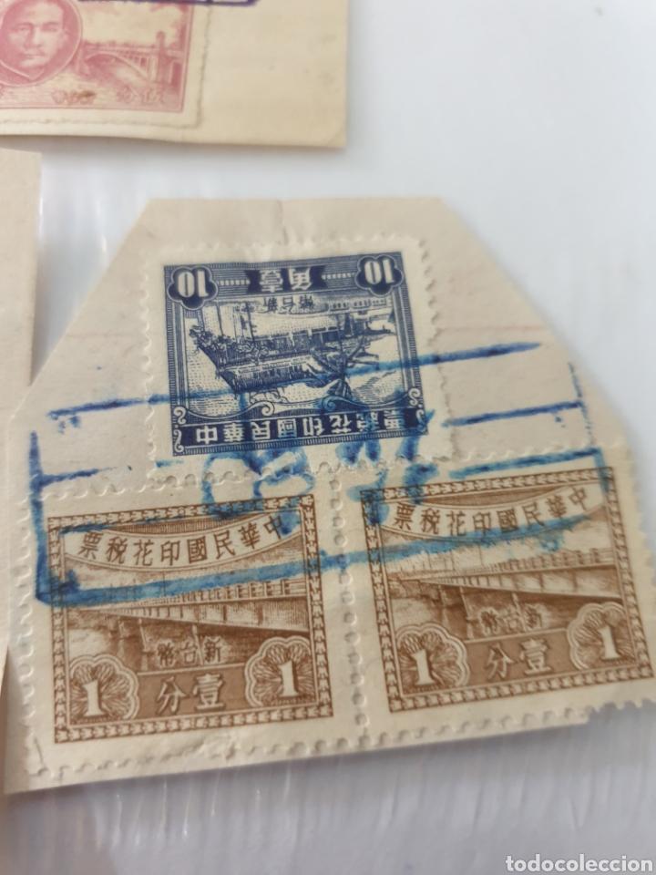 Sellos: Circulados con deposito y seguro postal raros china - Foto 3 - 170087109