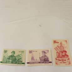 Sellos: SERIE SELLOS DE CHINA NUEVA SIN FIJASELLOS 1952. Lote 171014944