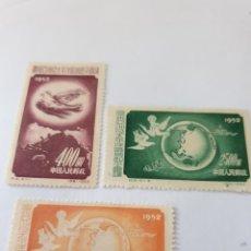 Sellos: SERIE SELLOS NUEVA DE CHINA SIN FIJASELLOS. Lote 171015145