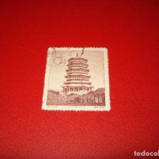 Sellos: CHINA SELLO 8 FEN. TEMPLO. AÑO 1958. 21.4-3. Lote 174259843