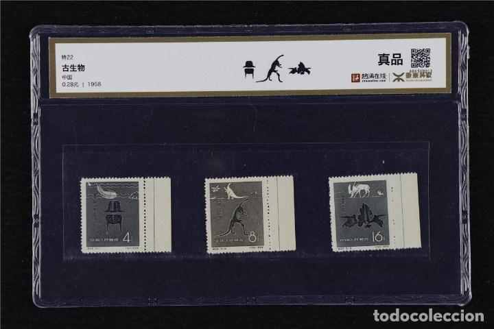1958 CHINA NUEVOS CON GOMA ORIGINAL Y CERTIFICADO YTG (Sellos - Extranjero - Asia - China)