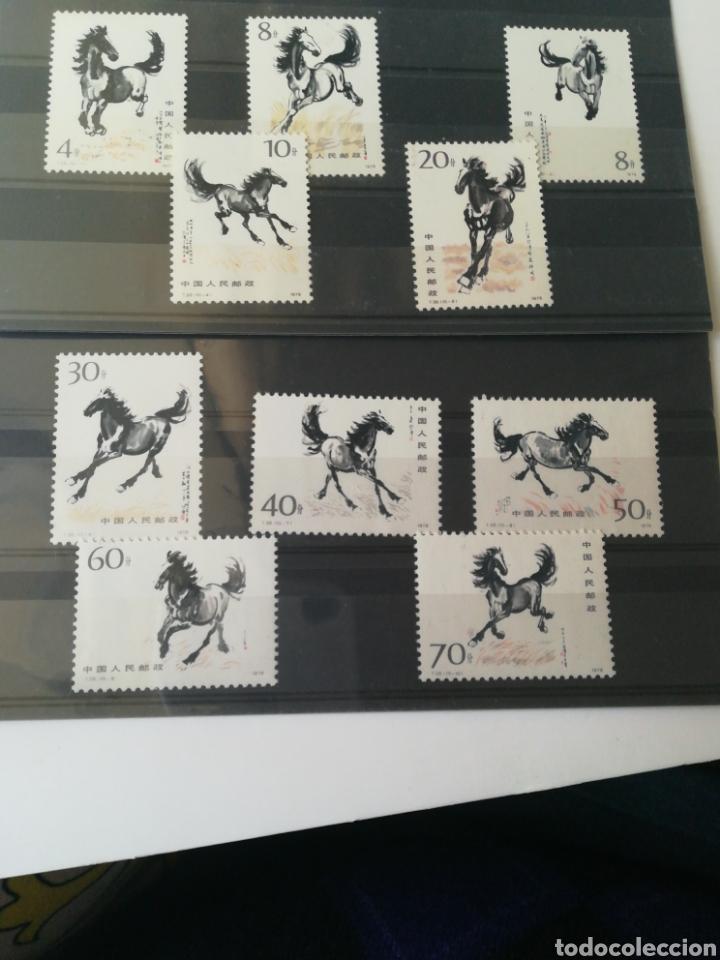 GALLOPING HORSE (CABALLOS A GALOPE). SERIE MNH** CHINA 1978. MAGNÍFICA. (Sellos - Extranjero - Asia - China)