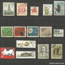 Sellos: CHINA CONJUNTO DE SELLOS USADOS DE LOS AÑOS 1958-1961. Lote 189484123