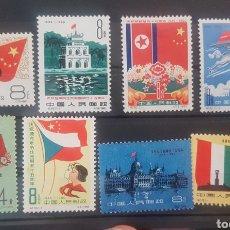 Sellos: CHINA STAMPS SELLOS 1960*NUEVOS CON FIJASELLOS. Lote 199826398