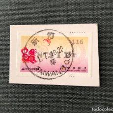 Sellos: SELLO DE CHINA EN USADO SOBRE FRAGMENTO (PERRO). Lote 211945708