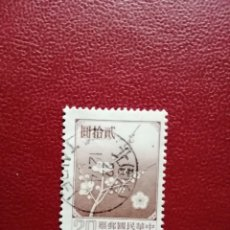 Sellos: CHINA - VALOR FACIAL 20 - FLORA, FLOR. Lote 221345323